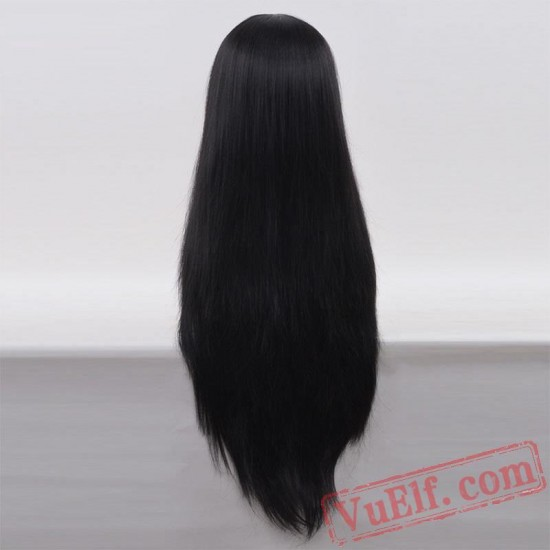 Black Straight Wigs for Women
