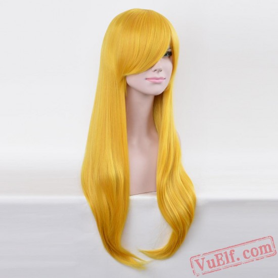 Long Straight Cisplay Wigs for Women