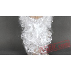Long Curly Santa Claus Wigs for Women