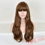 Fashion Long Curly Puffy Wigs for Women
