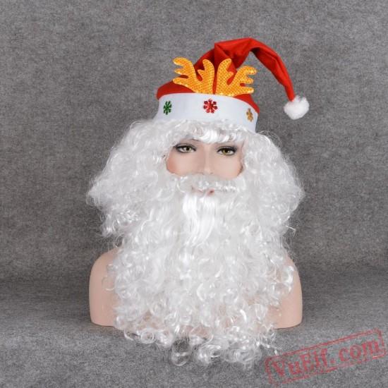 Santa Claus Cosplay Wigs