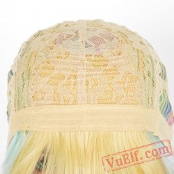 Gold & Pink Cosplay Wigs for Women