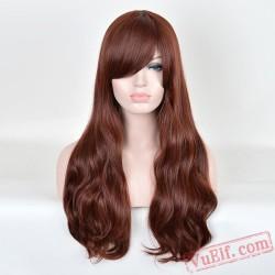 Long Curly Fashion Wigs for Women