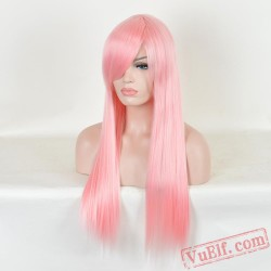 Fashion Pink Wigs for Women