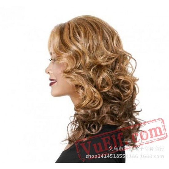 Long Curly Wigs for Women