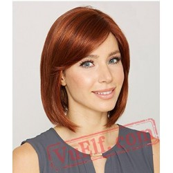 Short Gold Curly Wigs for Women