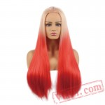 Blonde Wig Black Women Long Straight Cosplay Wig