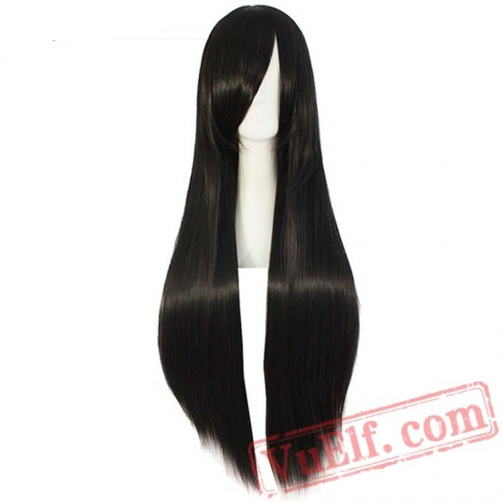 Beauty Long Cosplay Wig Straight Hair Blonde