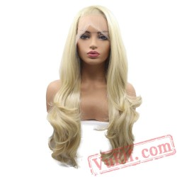 Blonde Wigs Lace Wig Wave Hair Wigs Women Natural