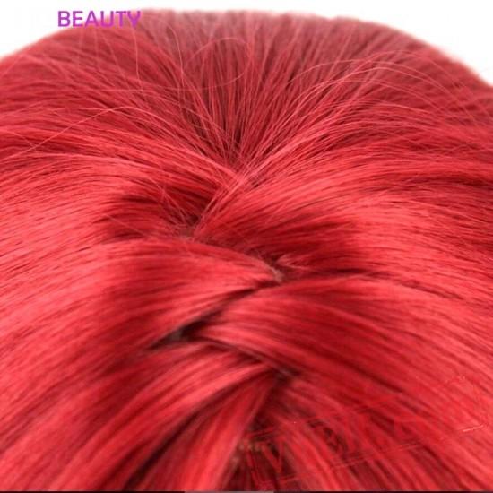 Hair Long Loose Wavy Red Wig Wig Women Wig Hair
