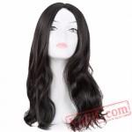 Black Medium Curly Hair Women