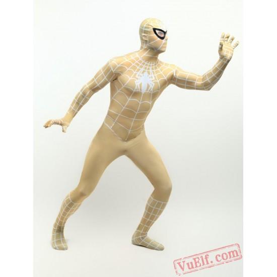 Golden Spiderman Lycra Spandex BodySuit | Zentai Suit