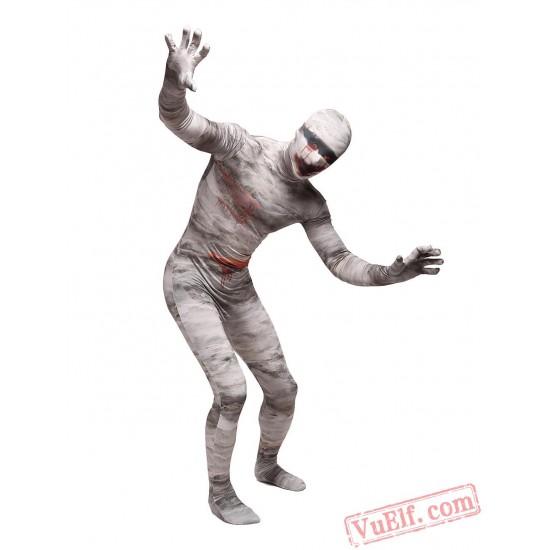 Mummy Lycra Spandex BodySuit   Zentai Suit