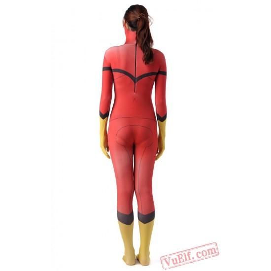 Women Superhero Costumes - Lycra Spandex BodySuit | Zentai Suit