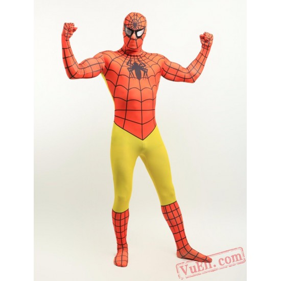 Spiderman Costumes - Lycra Spandex BodySuit | Zentai Suit