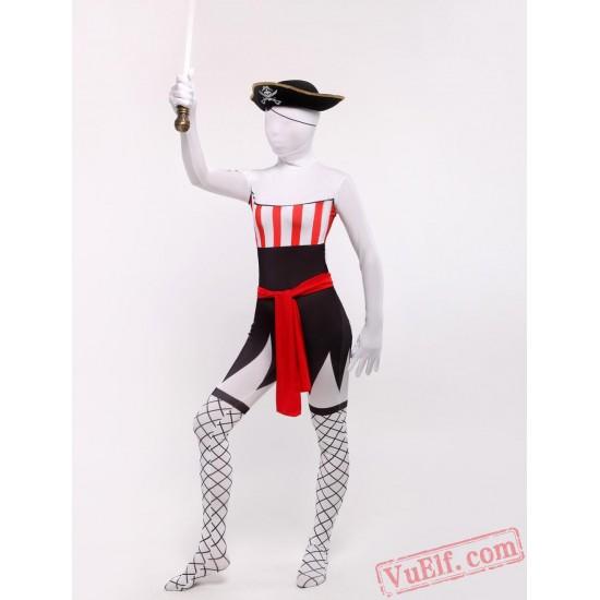 Pirate Costumes - Lycra Spandex BodySuit | Zentai Suit