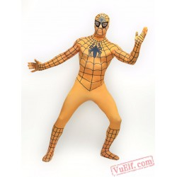 yellow Spiderman Zentai Suit - Spandex BodySuit   Costumes