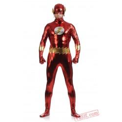 The Flash Man Costumes - Lycra Spandex BodySuit | Zentai Suit