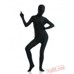Black Full Body Costumes - Lycra Spandex BodySuit | Zentai Suit