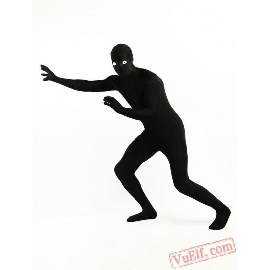 Cool Black Lycra Spandex BodySuit | Zentai Suit