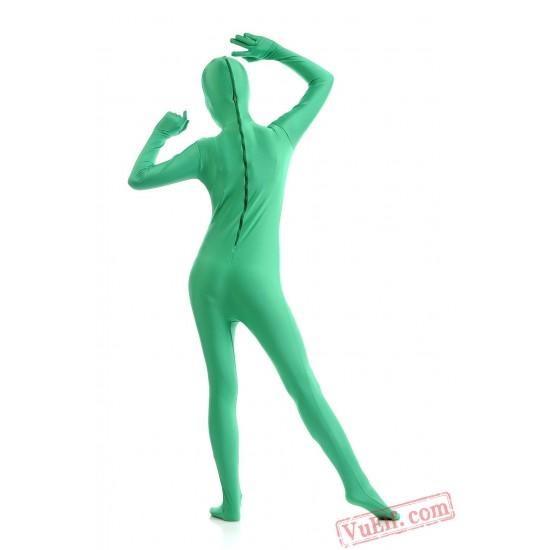 Green Full Body Costumes - Lycra Spandex BodySuit | Zentai Suit