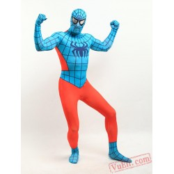 Orange spiderman Zentai Suit - Spandex BodySuit | Costumes