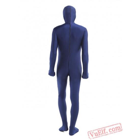 Purple Lycra Spandex BodySuit   Zentai Suit