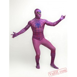 Pink Spiderman Zentai Suit - Spandex BodySuit | Costumes