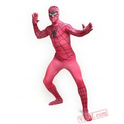 Rose Spiderman Costumes - Zentai Suit | Spandex BodySuit
