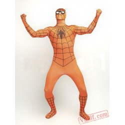 Orange Spiderman Costumes - Zentai Suit | Spandex BodySuit