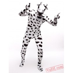 Spandex Cow Animal Zentai Suit - Full Body Costumes