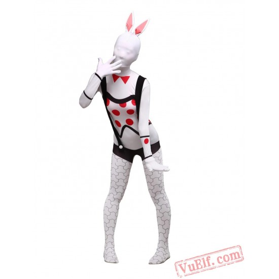 Bunny Girl Zentai Suit - Spandex BodySuit | Full Body Costumes