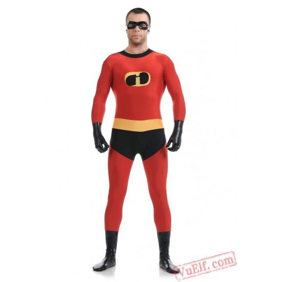 Incredibles Costumes - Zentai Suit | Spandex BodySuit