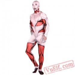 Attack on Titan Annie Costumes - Lycra Spandex BodySuit