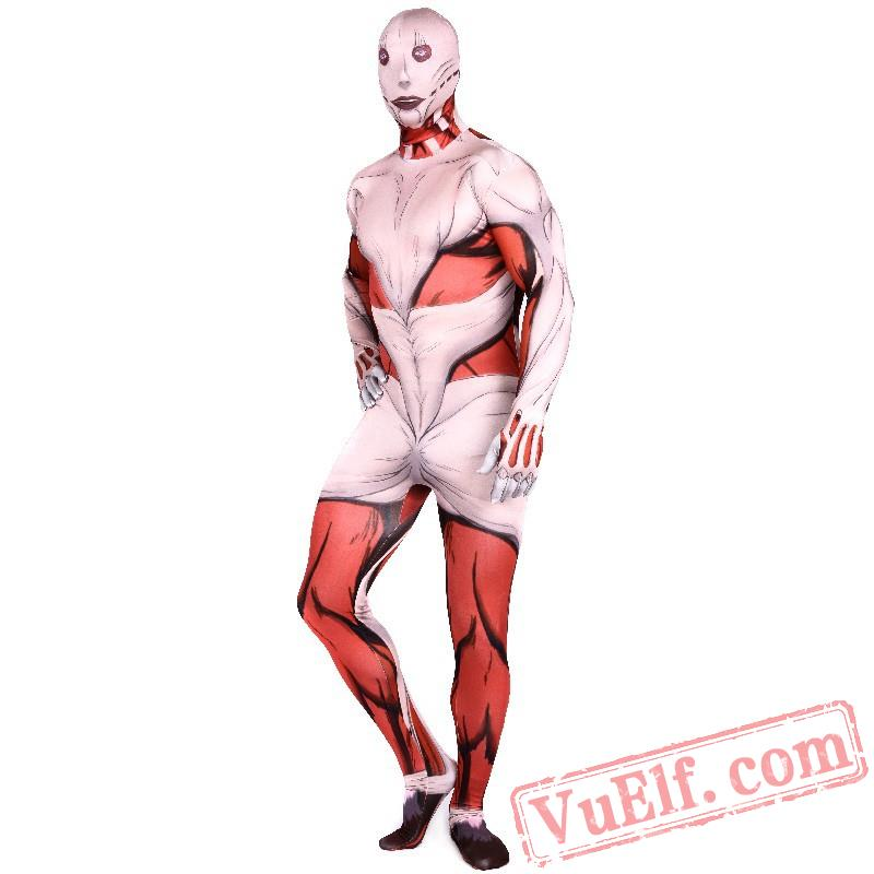 Attack On Titan Annie Costumes Lycra Spandex Bodysuit