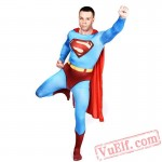 Superman Costumes - Zentai Suit | Spandex BodySuit