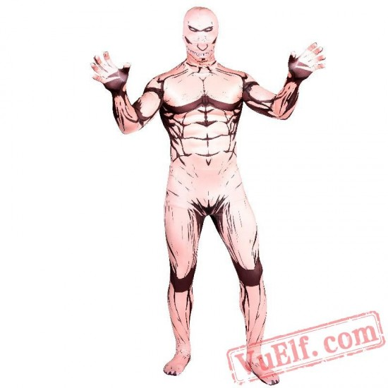 Attack on Titan Eren Jeager Costumes - Lycra Spandex BodySuit