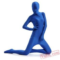 Blue Full Body Costumes - Lycra Spandex BodySuit | Zentai Suit