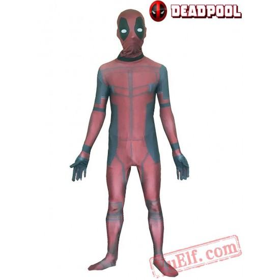 Deadpool Costumes - Lycra Spandex BodySuit | Zentai Suit