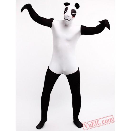 Panda Zentai Suit - Spandex BodySuit   Full Body Costumes