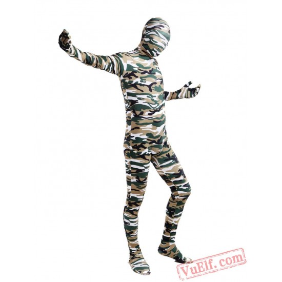 Multi Colour Lycra Spandex BodySuit | Zentai Suit