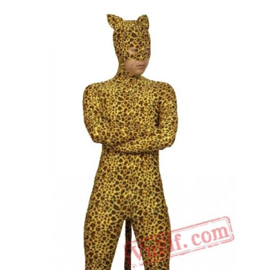 Leopard Zentai Suit - Spandex BodySuit   Full Body Costumes
