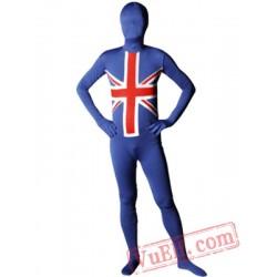 Flag of England Lycra Spandex BodySuit | Zentai Suit