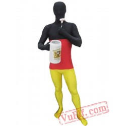 Flag of Germany Lycra Spandex BodySuit | Zentai Suit
