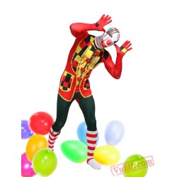 Clown Lycra Spandex BodySuit | Zentai Suit