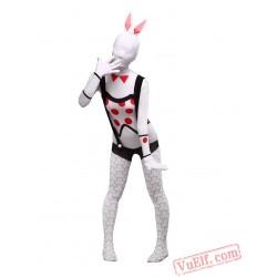 Bunny Girl Costumes - Lycra Spandex BodySuit | Zentai Suit